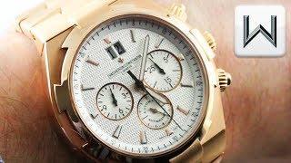 Vacheron Constantin Overseas Chronograph (49150/B01R-9454) Luxury Watch Review