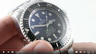 "Rolex Deepsea Sea-Dweller ""James Cameron"" 116660 Luxury Watch Review"