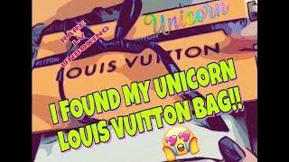 LOUIS VUITTON UNBOXING!! MY UNICORN BAG! RARE FASHIONPHILE UNBOXING