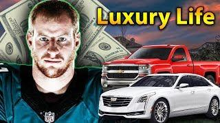 Carson Wentz Luxury Lifestyle | Bio, Family, Net worth, Earning, House, Cars