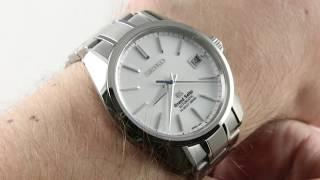 Grand Seiko Hi-Beat 36000 (SBGH043) Luxury Watch Review