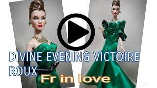 FASHION ROYALTY CONVENTION EXCLUSIVE DOLL FROM 2018 LUXE LIFE DIVINE EVENING VICTOIRE REVIEW DOLL.