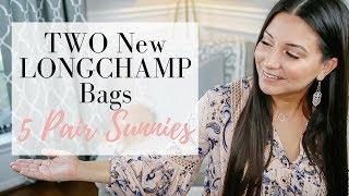 HAUL - TWO NEW LONGCHAMP Bags, 5 Pairs of Sunglasses + More | LuxMommy