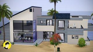 Luxury Beach House [The Sims 3 House Design]