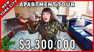 NYC Apartment Tour: 3.3 MiLLION $ Luxury Apartment! ????????