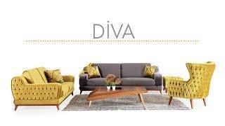 Diva Koltuk Takımı Luxe Life Mobilya