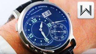 A. Lange & Sohne Grande Lange 1 Luminous (115.029) Luxury Watch Review