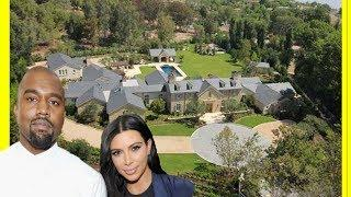 Kim Kardashian & Kanye West $60000000 House Tour / Luxury Expensive Mansion