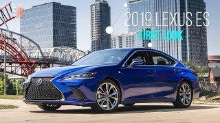 FIRST LOOK - 2019 Lexus ES350 F-Sport - Another Best Seller?
