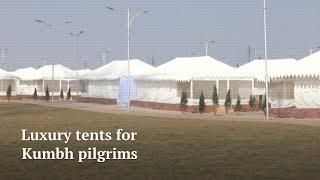 Title: Kumbh Mela 2019: Luxury Tents for pilgrims attending Kumbh mela from India and abroad