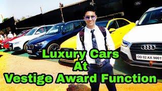 Luxury Cars At Vestige Award Function 2019.