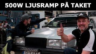 EXTREM-RAMP PÅ TAKET 500W - VOLVO 740!