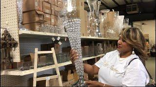 """VLOG: SHOP WITH ME + LUXE ACADEMY FOR LUXURIOUS """"GLAM"""" EVENT PLANNING DECOR"""