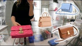 Dior, Celine & Givenchy Luxury Shopping Vlog Trying On Bags!????