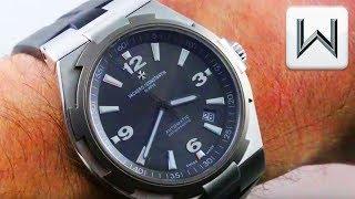 Vacheron Constantin Overseas Automatic Deep Stream (47040/000W-9500) Luxury Watch Review