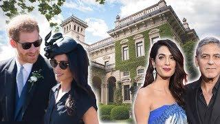 Meghan Markle & Prince Harry Stayed With George Clooney In Luxury Italian Villa Over Weekend