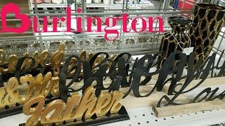 SHOP WITH ME: BURLINGTONS  |SUPER GIRLY GLAM | SPRING LUXURY HOME DECOR FINDS & IDEAS | APRIL 2018