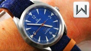 Omega Seamaster Railmaster JEANS Blue Denim (220.12.40.20.03.001) Luxury Watch Review