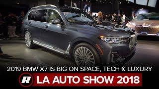 2019 BMW X7 plays with the big boys of spacious luxury | LA Auto Show 2018