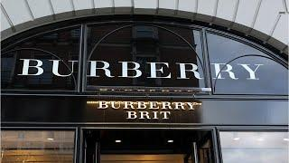 Burberry Sets Millions Worth Of Luxury Products On Fire