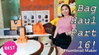 Luxury Bag Haul 2018 Part 16! Hermes pa more????