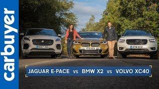 Batch & Ginny: BMW X2 vs Jaguar E-Pace vs Volvo XC40 | Small SUVs tested