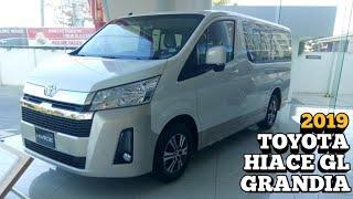 2019 Toyota Hiace GL Grandia (Luxury Pearl Toning) Walkaround - Philippines