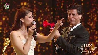Shah Rukh Khan And Alia Bhatt Game Of Unstoppable – Lux Golden Rose Awards 2018 – HUNGAMA
