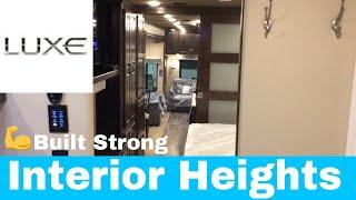 Luxe Luxury Fifth Wheels Interior Heights