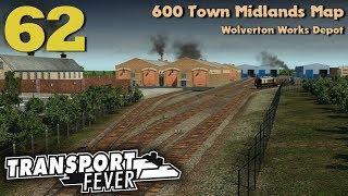 Transport Fever 600 Town Midlands Map #62: Wolverton Works Depot