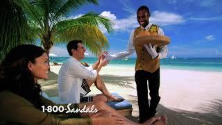 "Sandals Resorts - ""World's Best 5-Star Luxury Included Resorts 22 Years In A Row"" Commercial"