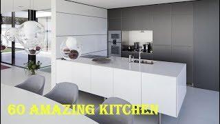 60 Modern Kitchen Furniture Creative Ideas 2019 - Modern and Luxury Kitchen Design Part.64