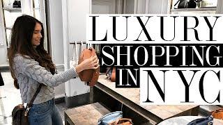 Luxury Shopping in NYC + New Handbag Releases!