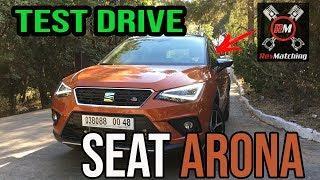2018 SEAT ARONA Test Drive - تجربة قيادة سيات ارونا 2018