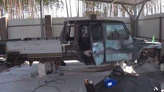 2006 Mercedes Sprinter 6x6 conversion with 4 subside doors by ZIMALETA
