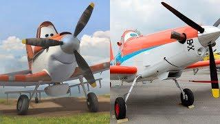 Disney Planes Characters in Real Life