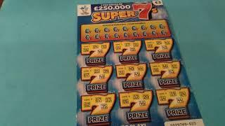 Scratchcard Saturday..Winning 777's...Luxury Lines..Instant £100..Super 7's