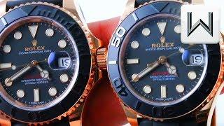 Rolex Yacht Master 37 vs Yacht Master 40 (116655 vs 268655) Luxury Watch Review