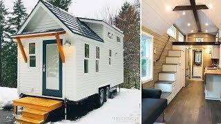 Stunning The Luxury Tiny house on wheels For Sale | Living Design For A Tiny House