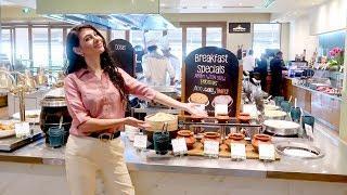 LUXURY INDIA FOOD BUFFET: ITC GARDENIA | TRAVEL VLOG IV