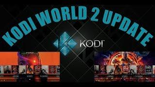 UPDATED KODI WORLD 2 BUILD V 2.0.8 FROM THE LUXURY WIZARD