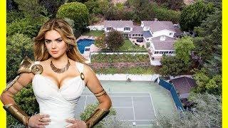Kate Upton & Justin Verlander House Tour $5250000 Beverly Hills Mansion Luxury Lifestyle 2018