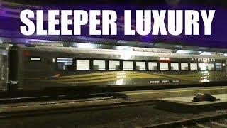 Penampakan Kereta Mewah Buatan INKA Kereta Sleeper Luxury (Saingannya Priority)