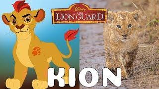 The Lion Guard Characters In Real Life 2018 | All Characters