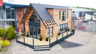 The Loft, A Luxury Holiday Lodge by Tingdene Homes | Charming Small House Design