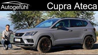 Cupra Ateca FULL REVIEW new 300 hp Seat Sport SUV - Autogefühl