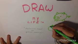 DRAW MY LIFE: [MALTRATO ANIMAL EN GRANJAS INTENSIVAS] (proyecto para clase)
