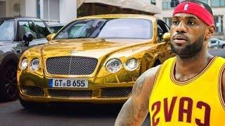 LEBRON JAMES'S  LUXURY CARS COLLECTION 2019