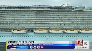 Hundreds sickened on luxury cruise from Florida