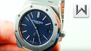 Audemars Piguet Royal Oak Jumbo Extra-Thin 15202ST.OO.1240ST.01 Luxury Watch Review